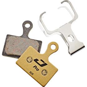 Jagwire Pro Semi-Metallic Plaquettes de frein à disque Pour Shimano Metrea/Rever Flatmount MCX2 MC, gold